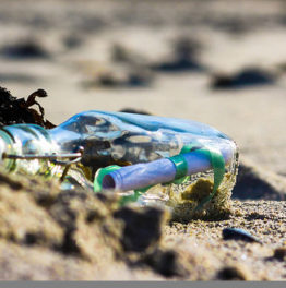 Finding a Message in a Bottle. {Poem}